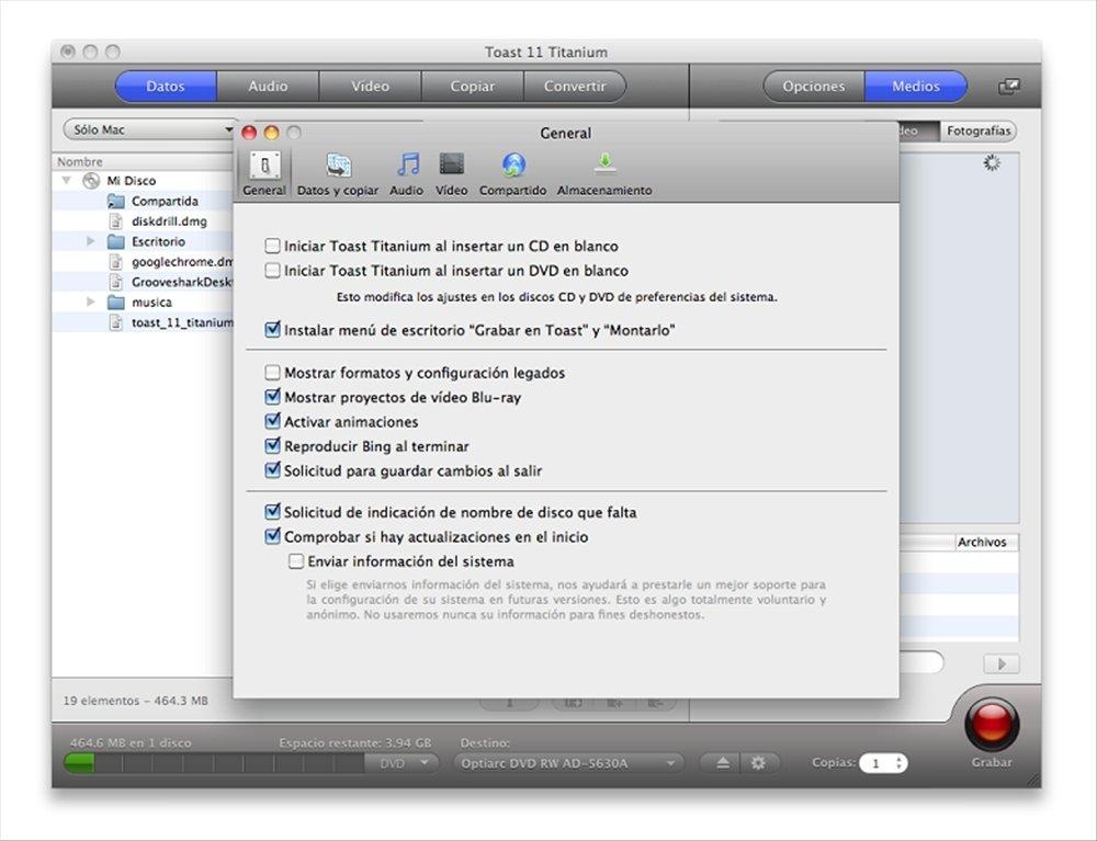 toast 11 titanium free download for mac