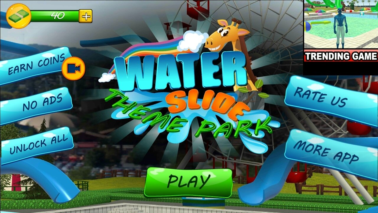 Water Slide Downhill Rush 1 47 - Download for Android APK