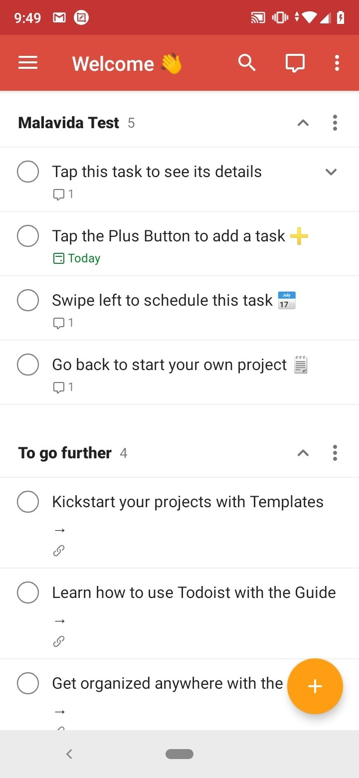 Todoist Android image 7