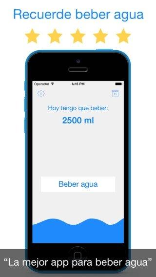 app para beber agua iphone gratis
