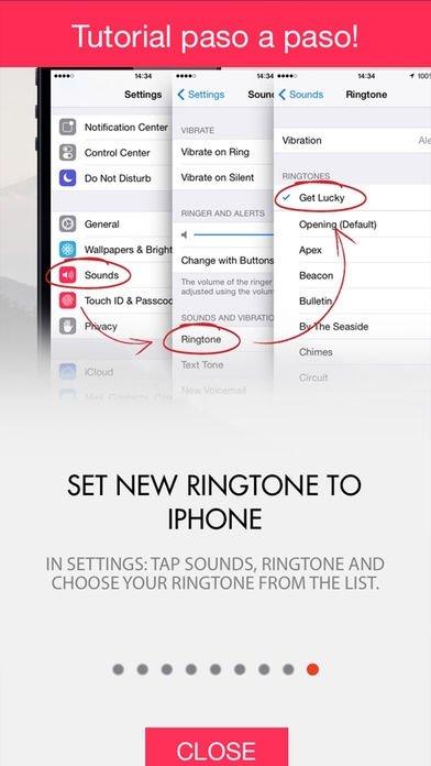 tonos de canciones gratis para iphone
