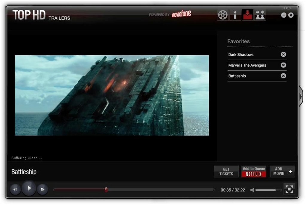 Top HD Trailers 1 0 1 - Download for PC Free