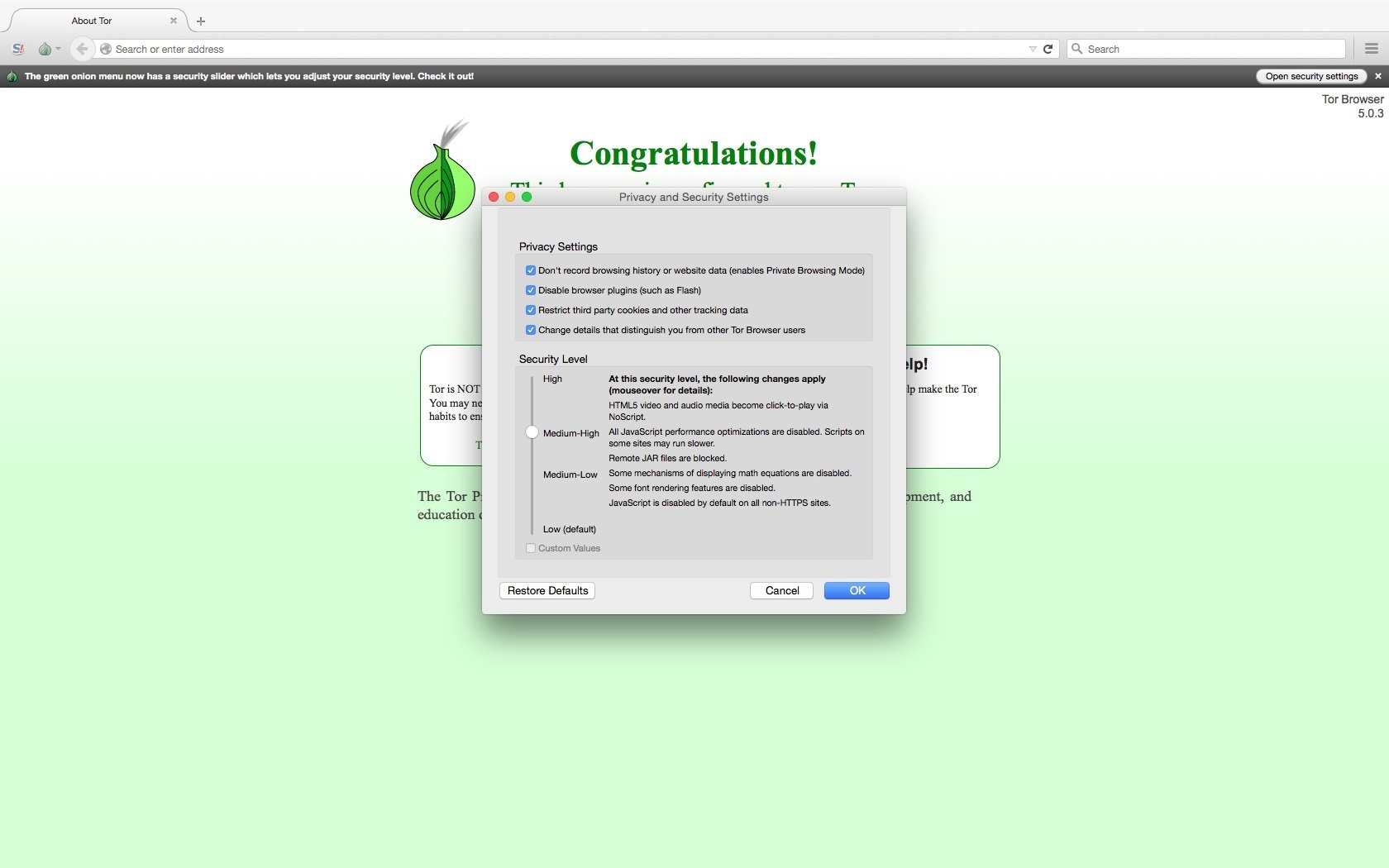 the onion router download mac