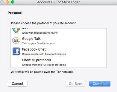 Tor Messenger Mac image 2