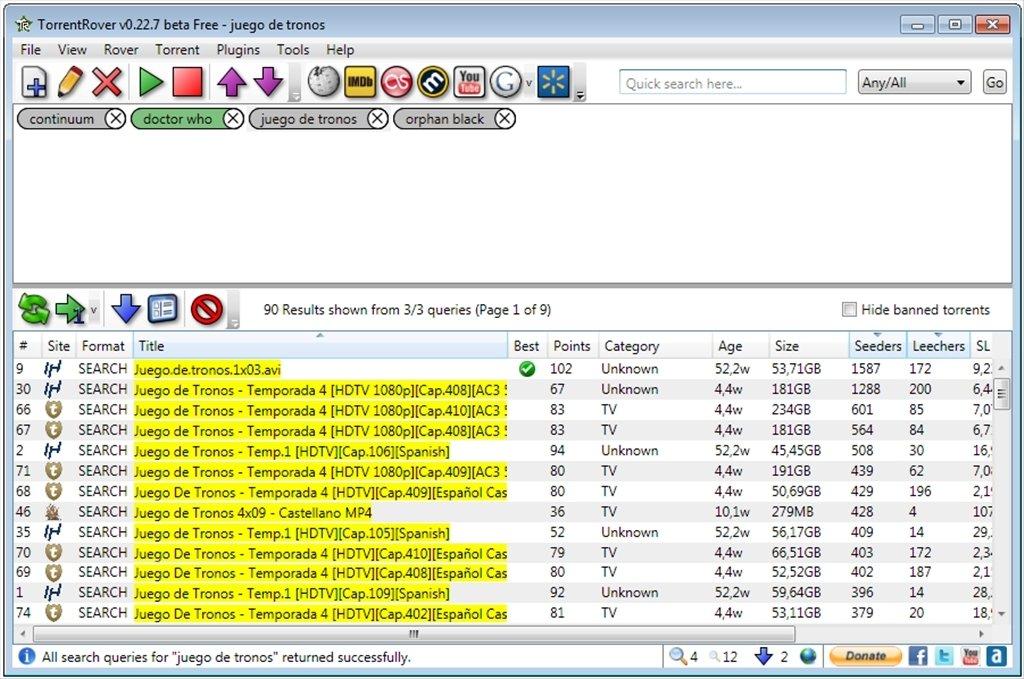 Free Download Torrent: Download Torrent Rover 1.1.12