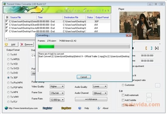 How to open edit and convert TORRENT files