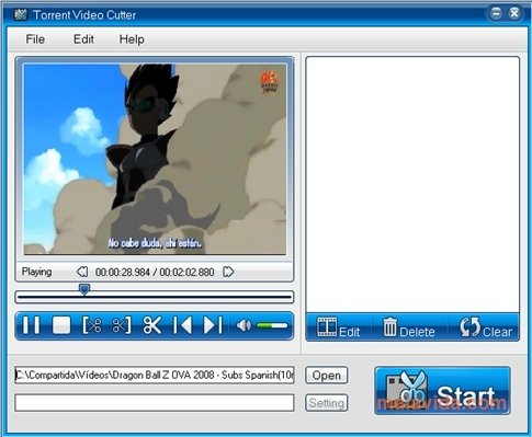 Torrent Video Cutter image 4