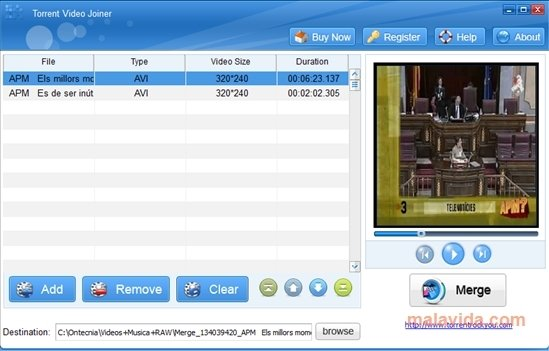 Torrent Video Joiner image 2