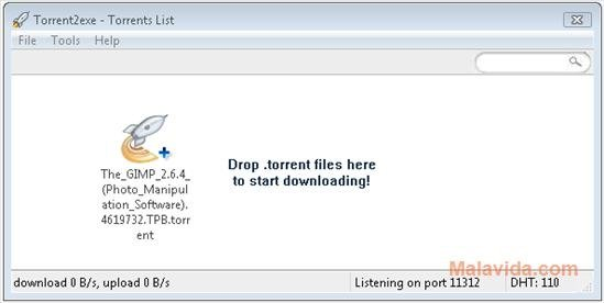 Torrent2exe 2.0.120 - Download for PC Free