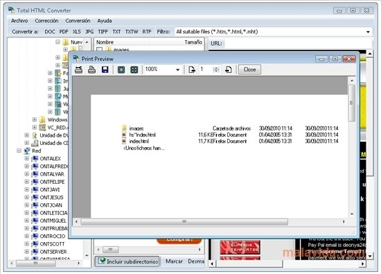 jpg to html converter software free download