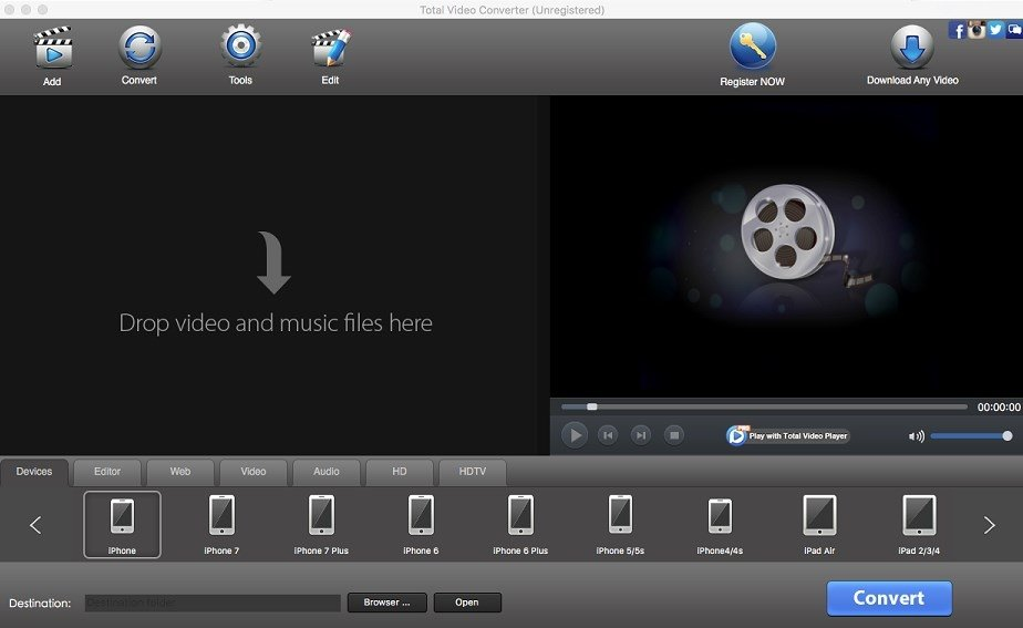 total video converter mac free download