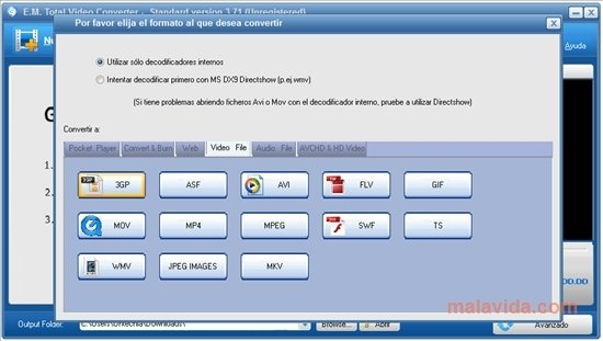 Descargar Total Video Converter 3.71 - Gratis en Español