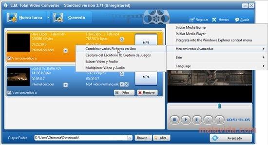total video converter 3.14 gratuit