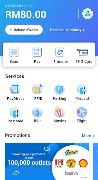 Touch N Go Ewallet 1 7 28 Download For Android Free