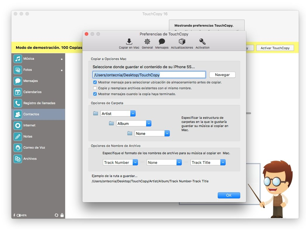 TouchCopy 16 30 - Download for Mac Free