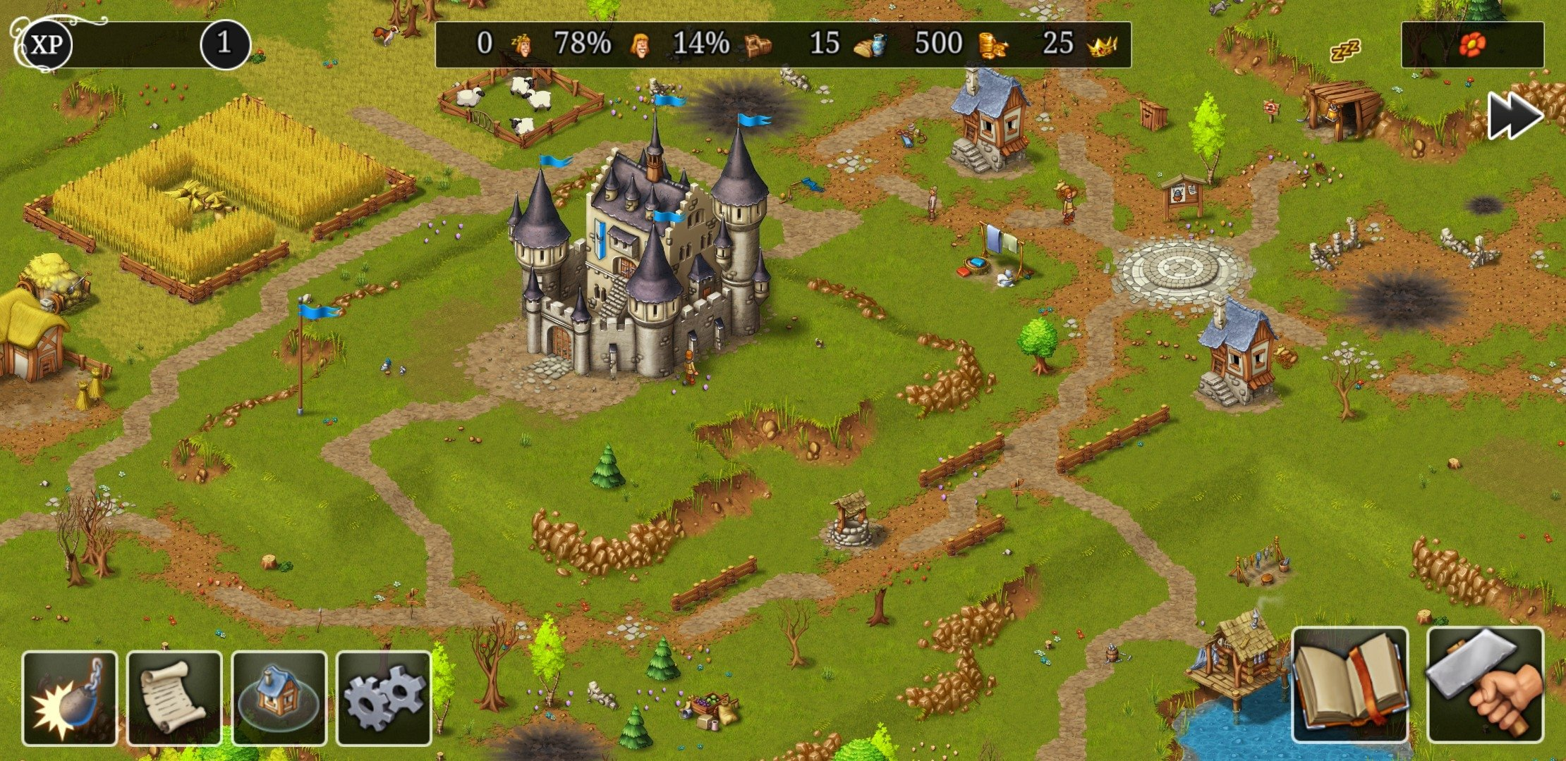 Townsmen Android image 6