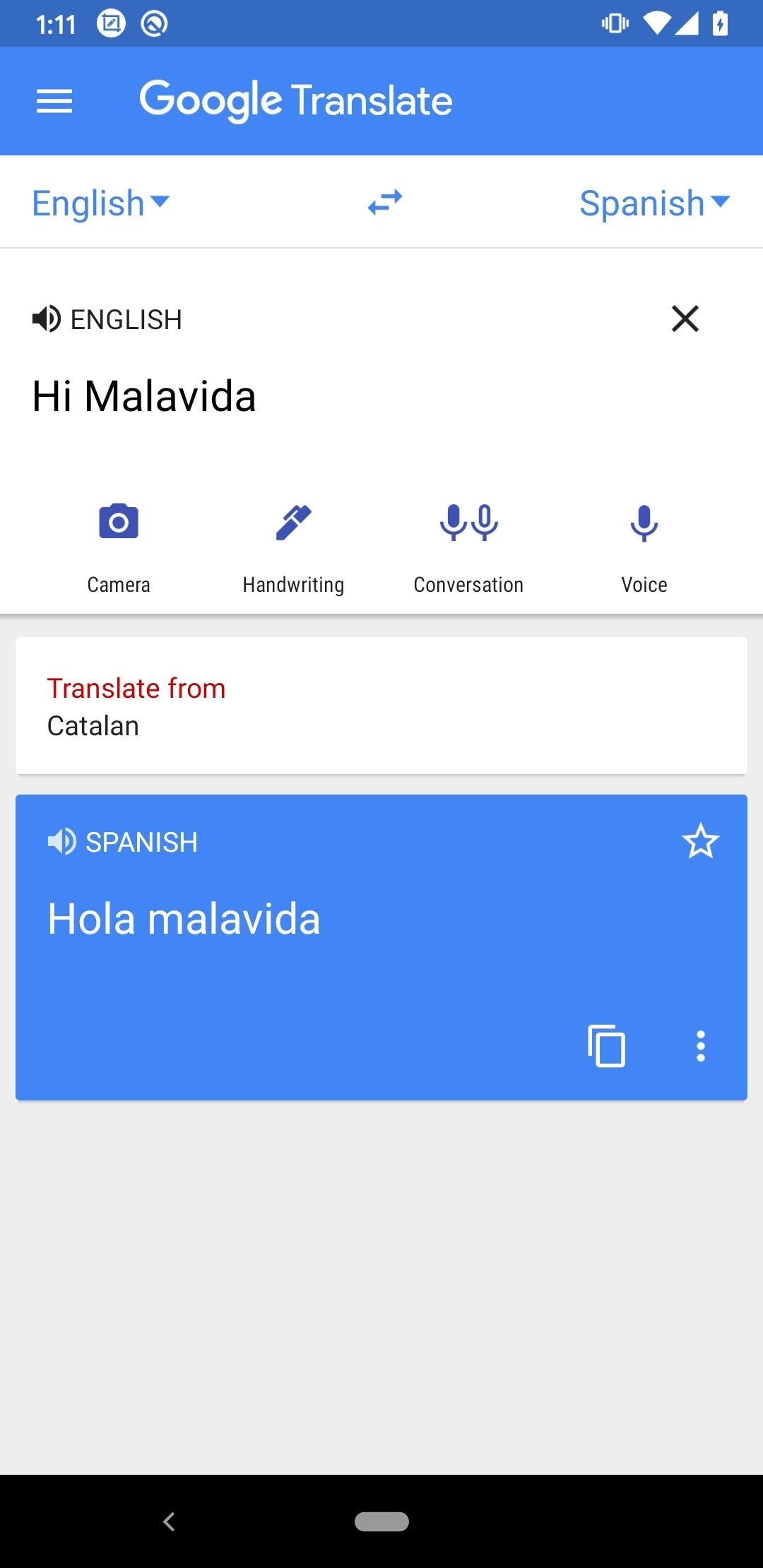 Google Translate Android image 5