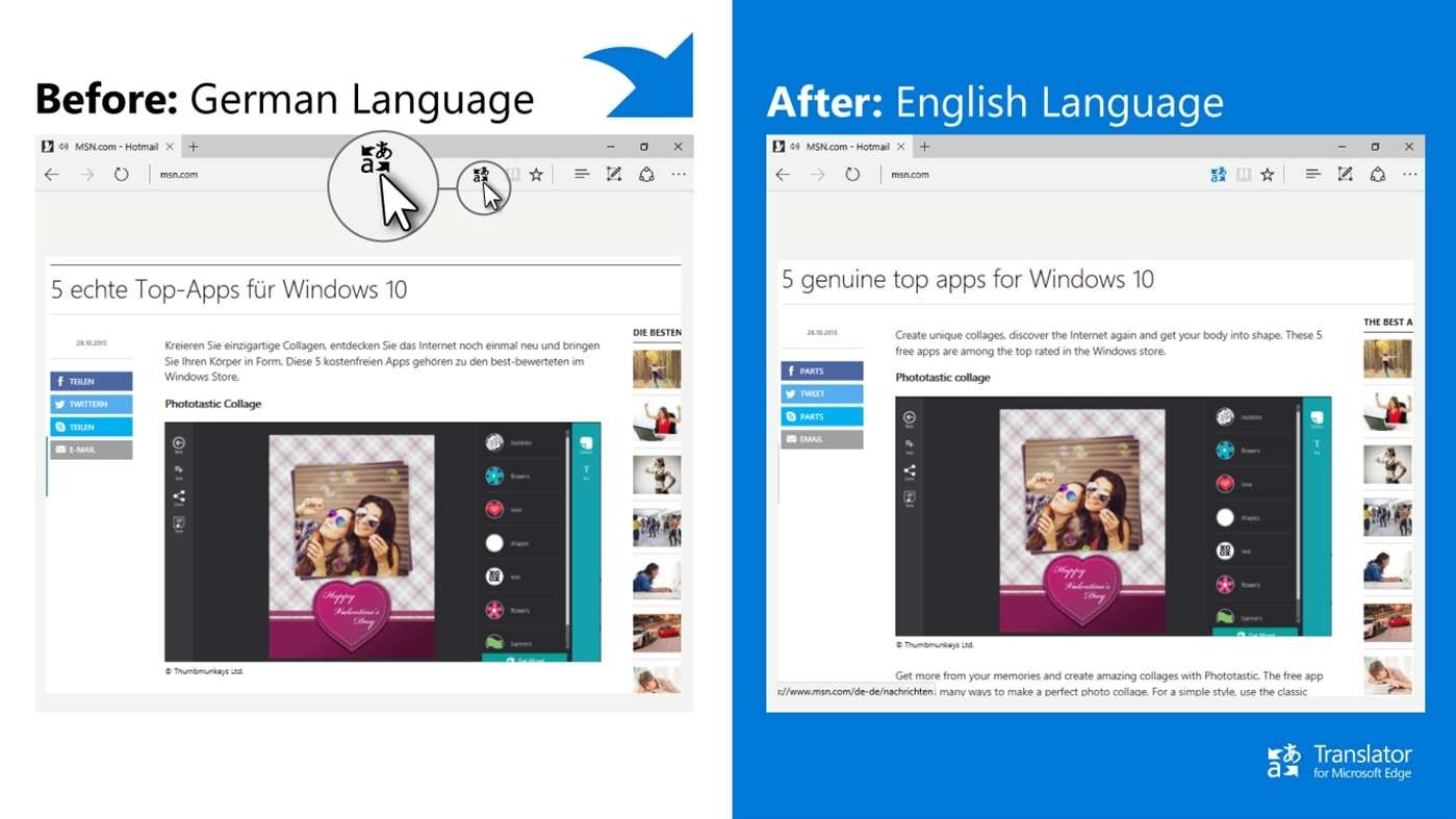 Translator For Microsoft Edge 0 91 48 0 - Download for PC Free