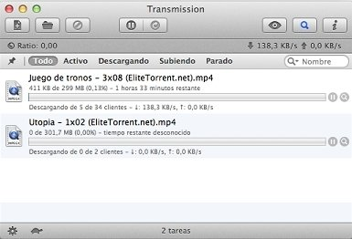 velocemente con utorrent mac