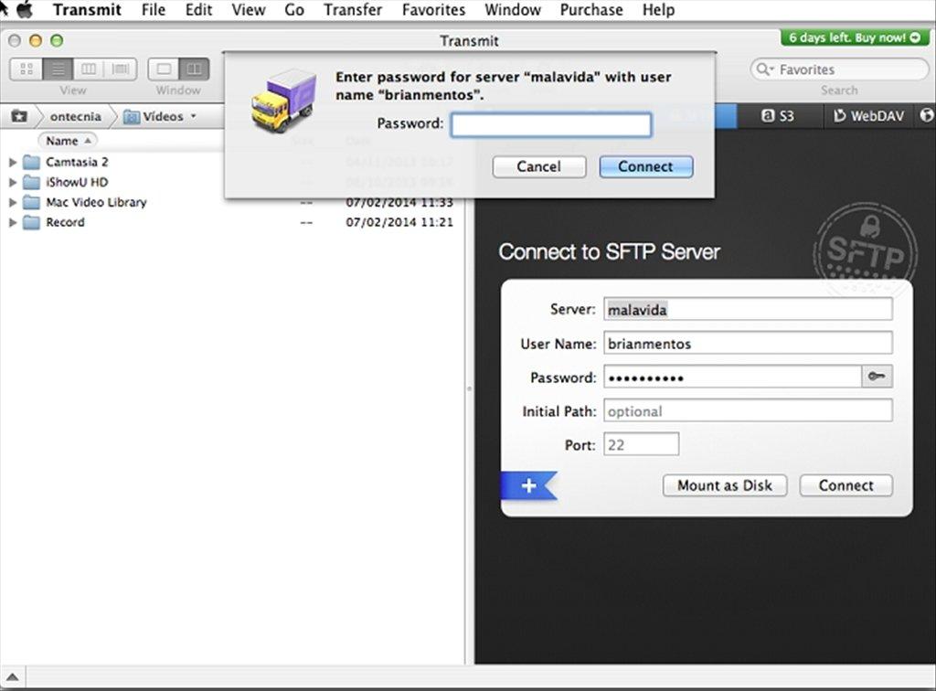 mac sftp client free