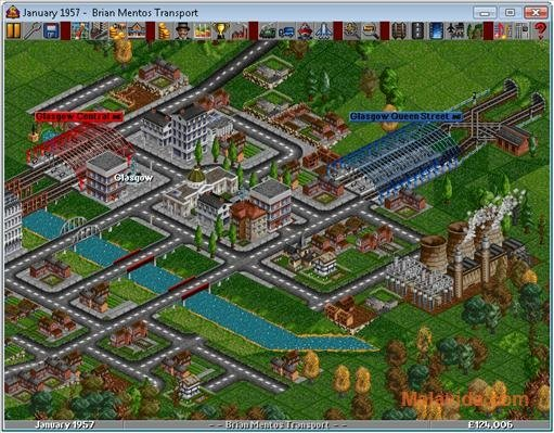 transport tycoon deluxe  windows