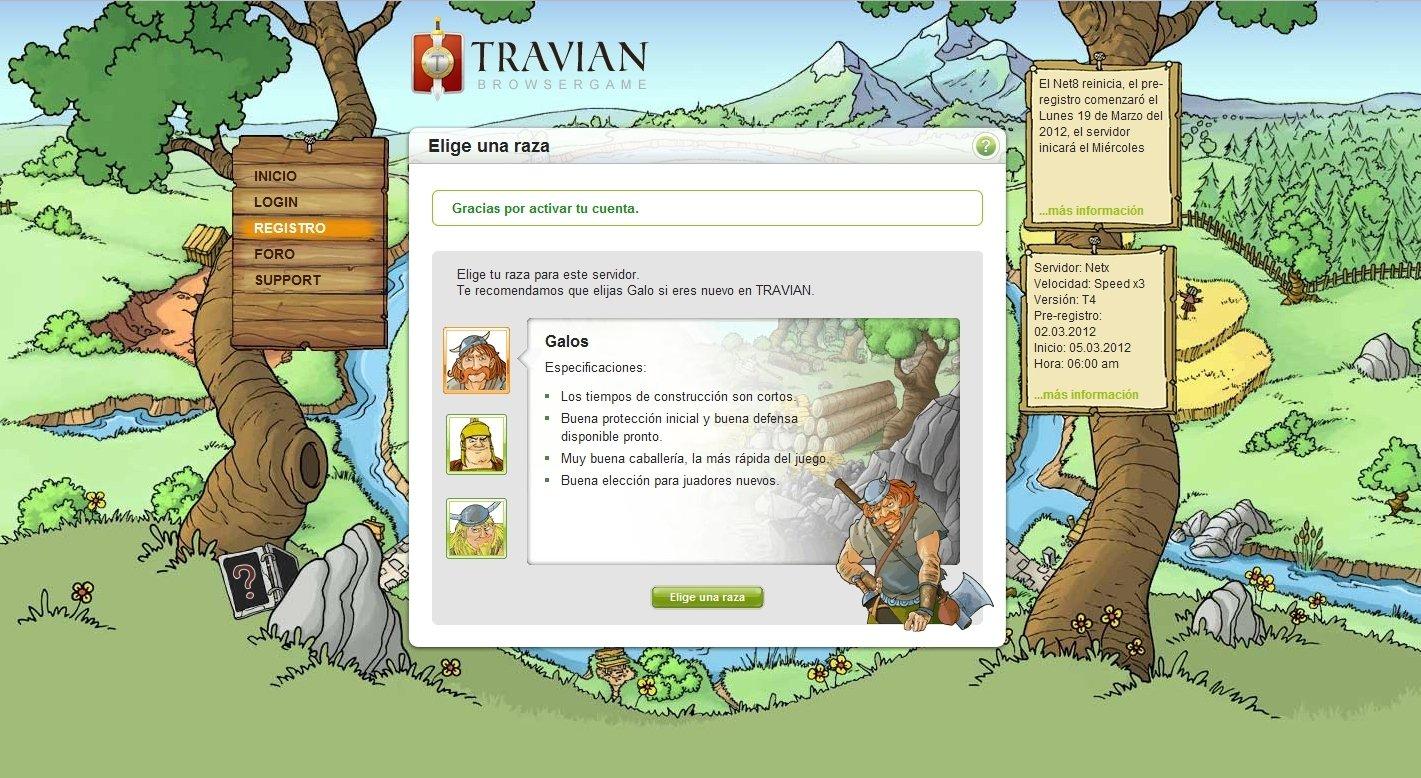 Travian Online (English) - Free