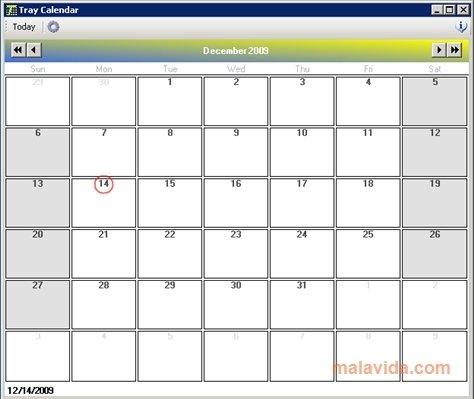 Tray Calendar image 3
