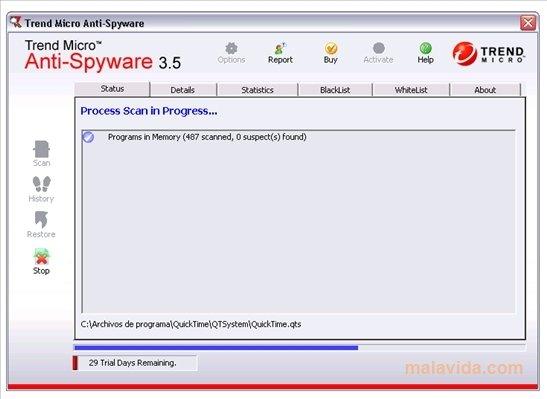 Trend Micro Anti-Spyware image 4