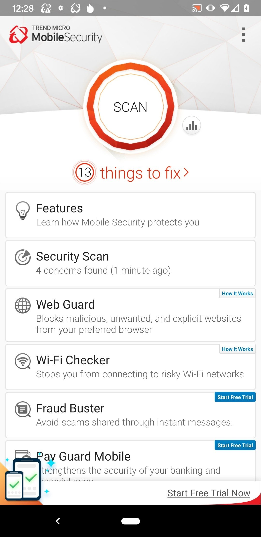 Trend Micro Mobile Security & Antivirus Android image 8