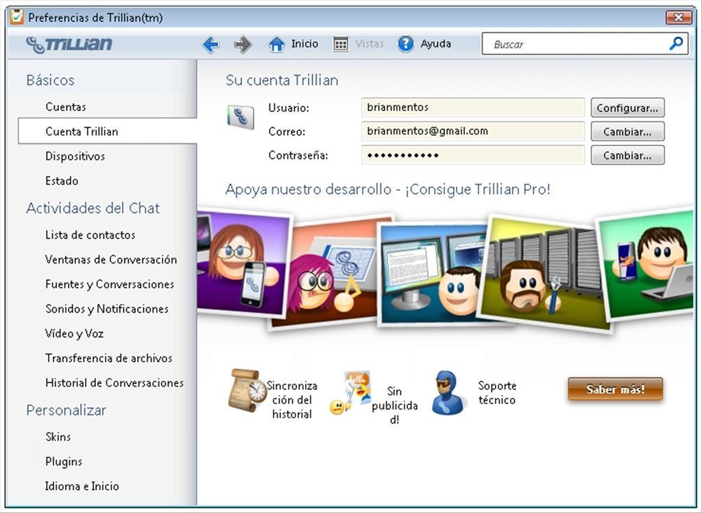 Trillian 6 1 0 17 - Download for PC Free