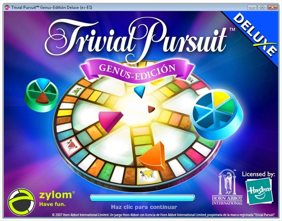 Trivial Pursuit Genus Edition Deluxe 1.01
