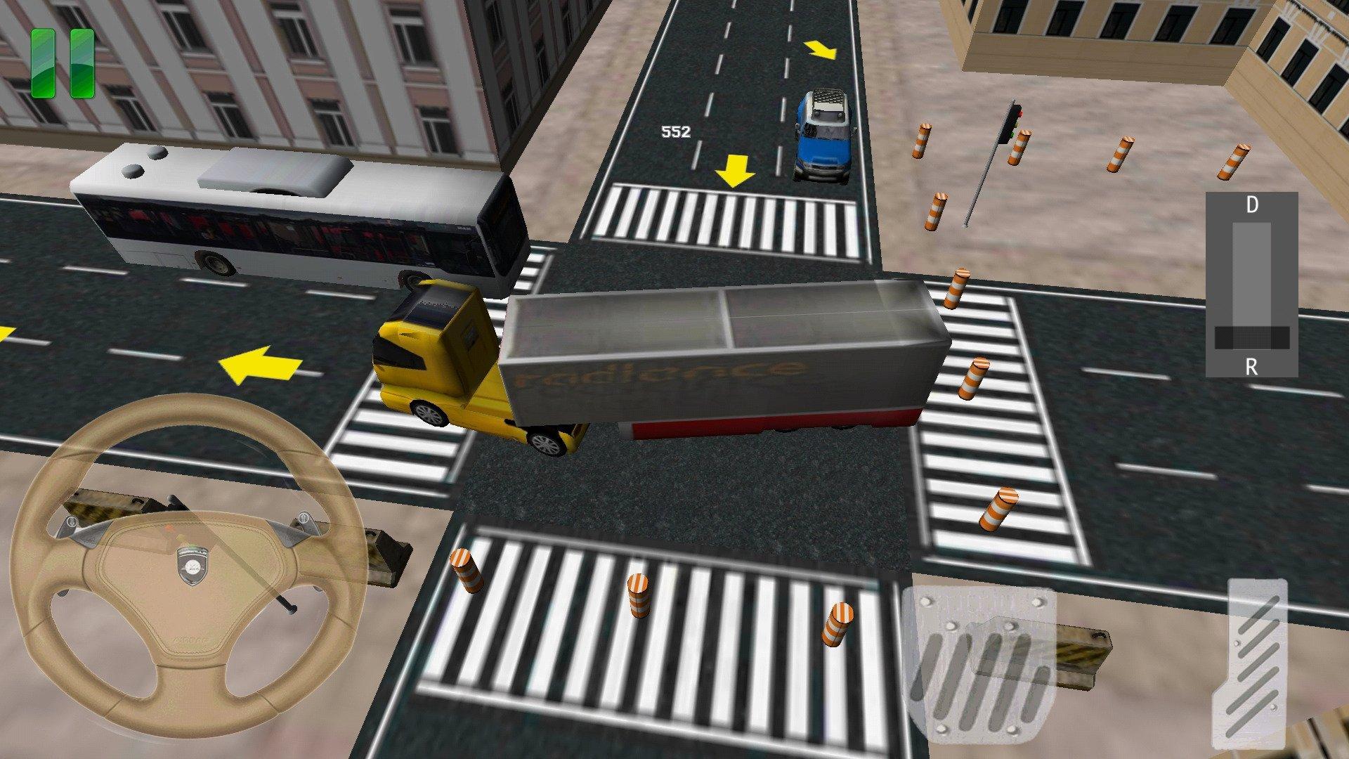 Truck Parking 3D disponível noutros Idiomas