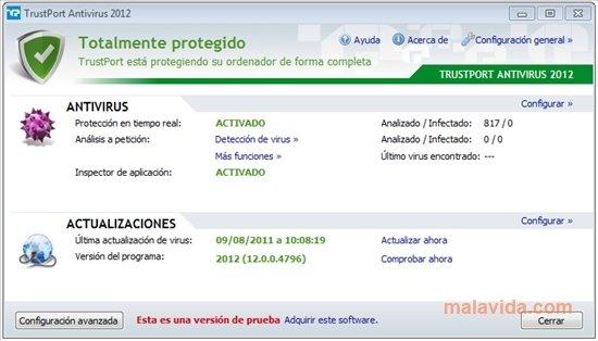 TrustPort Antivirus 2013 13.0.9.5102