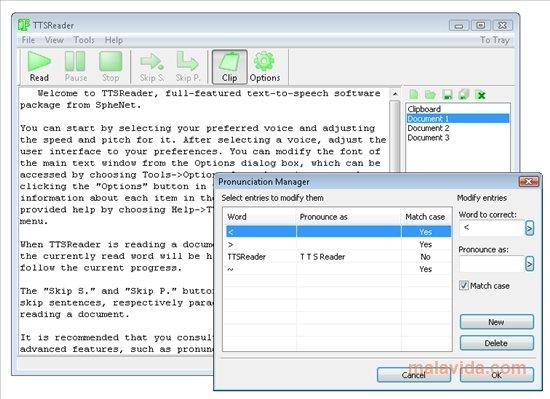 TTSReader 1 30 - Download for PC Free