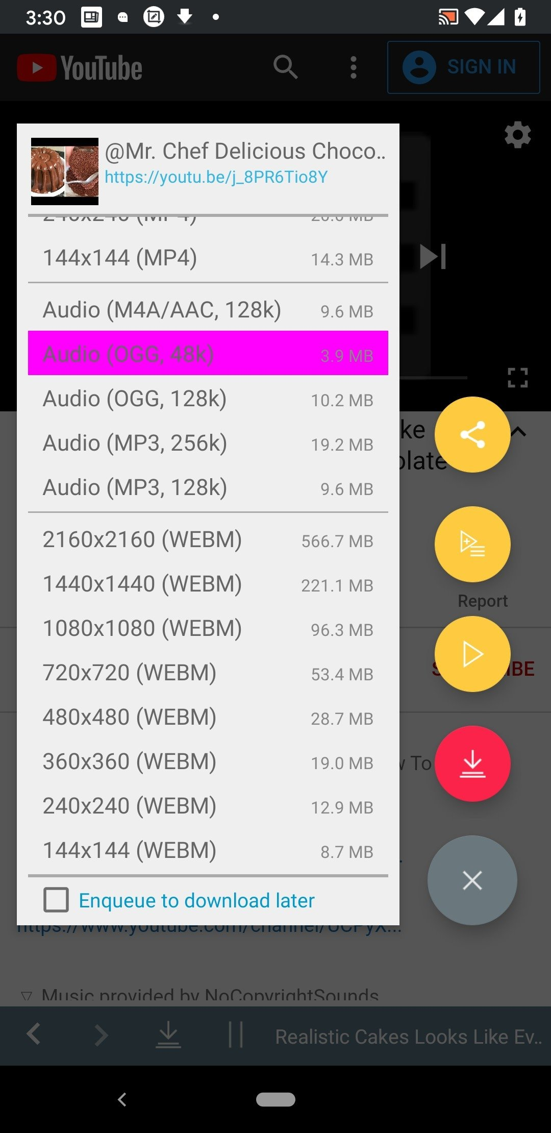 TubeMate YouTube Downloader Android image 4