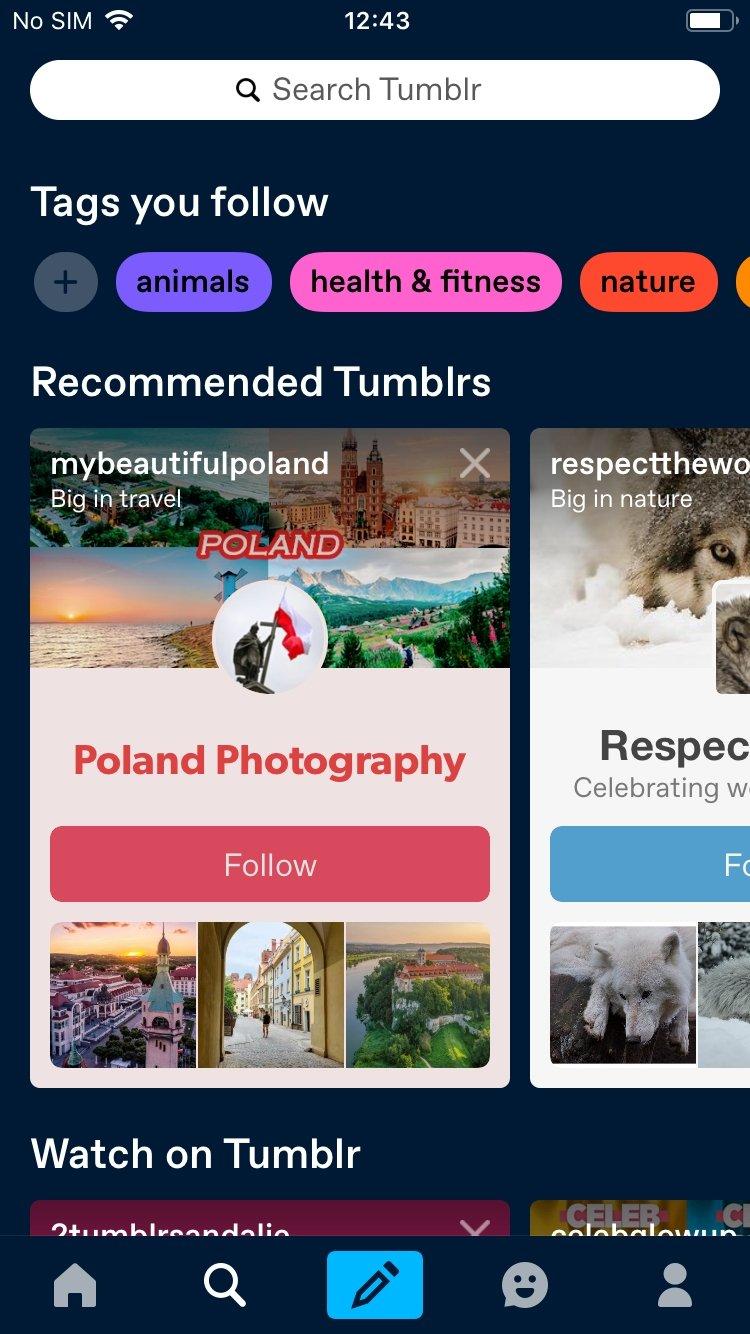 Tumblr iPhone image 5