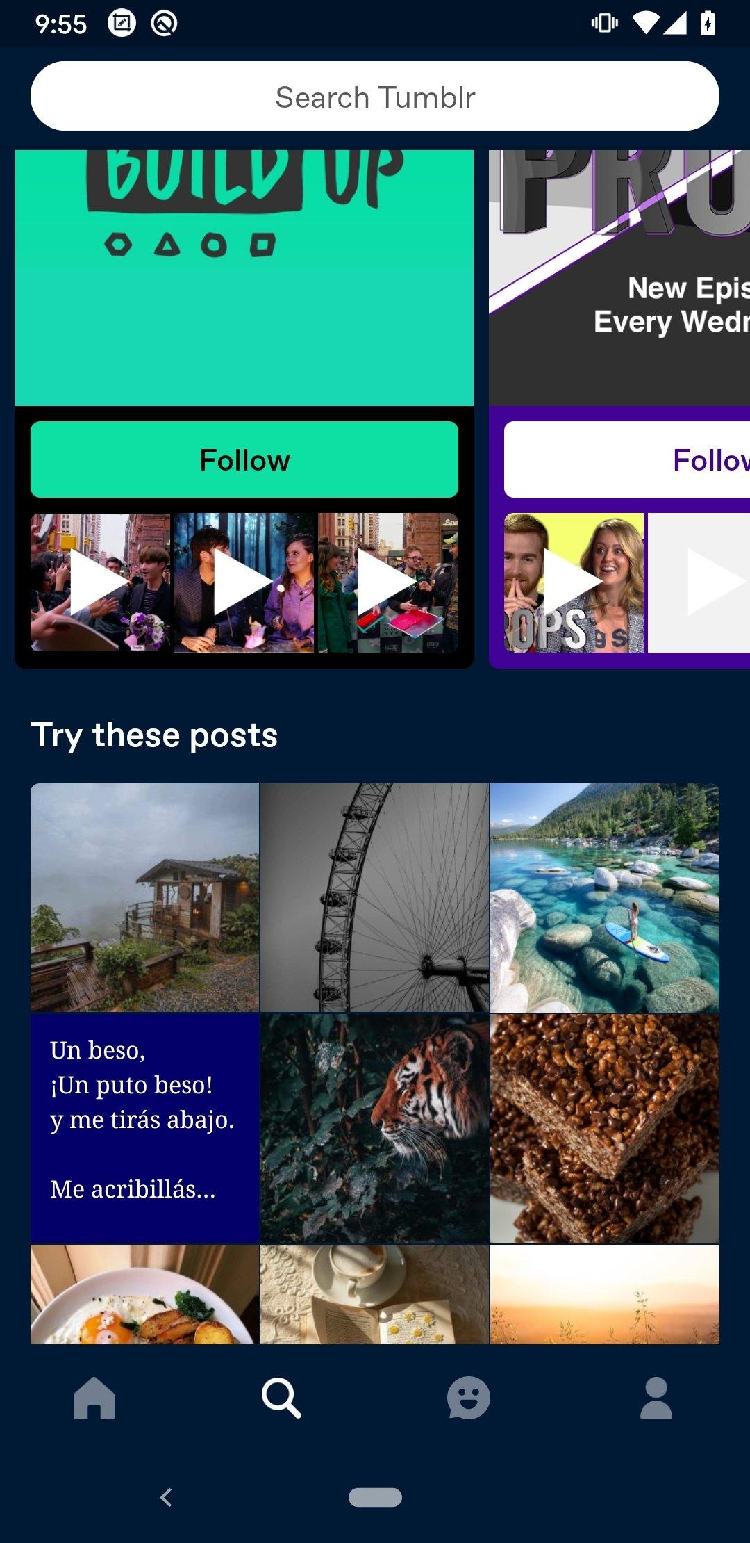 App Para Bajar Porno tumblr 16.2.1.04 - descargar para android apk gratis