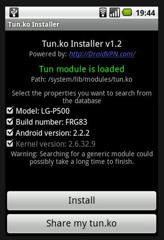 TUN.ko Installer Android image 5