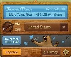 TunnelBear Mac image 5