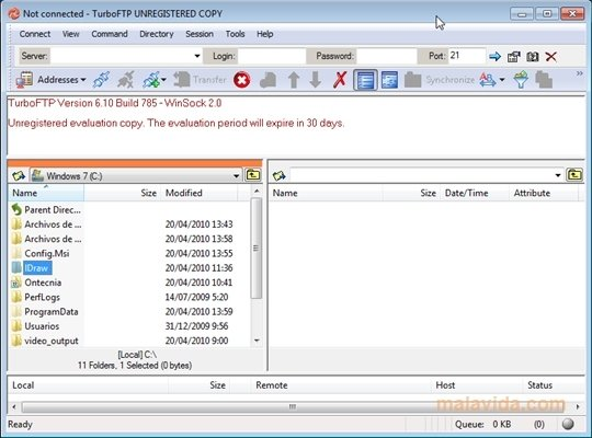 TurboFTP 6 80 1116 - Download for PC Free