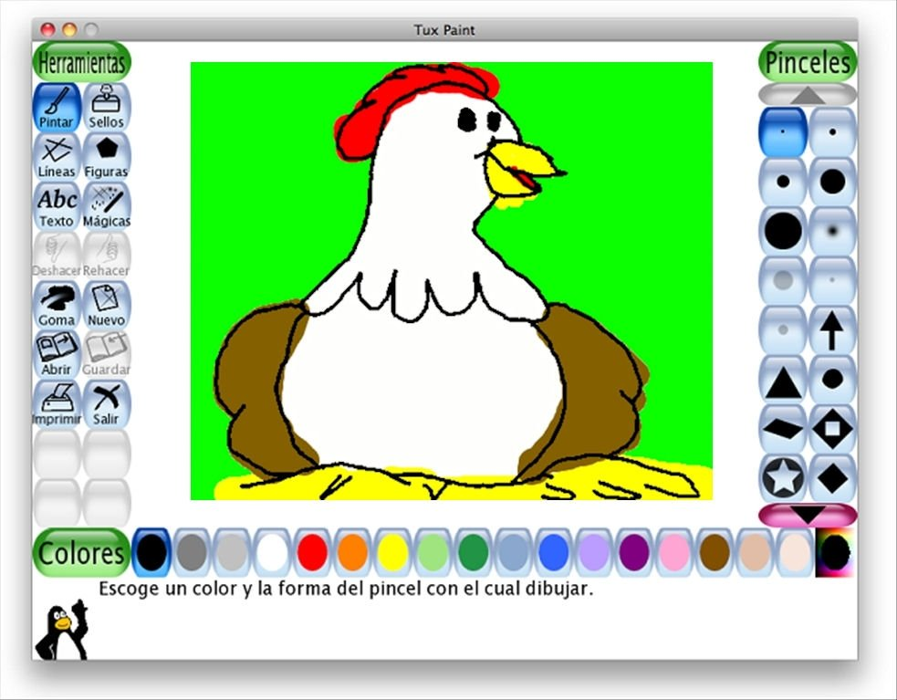 tux paint gratis in italiano