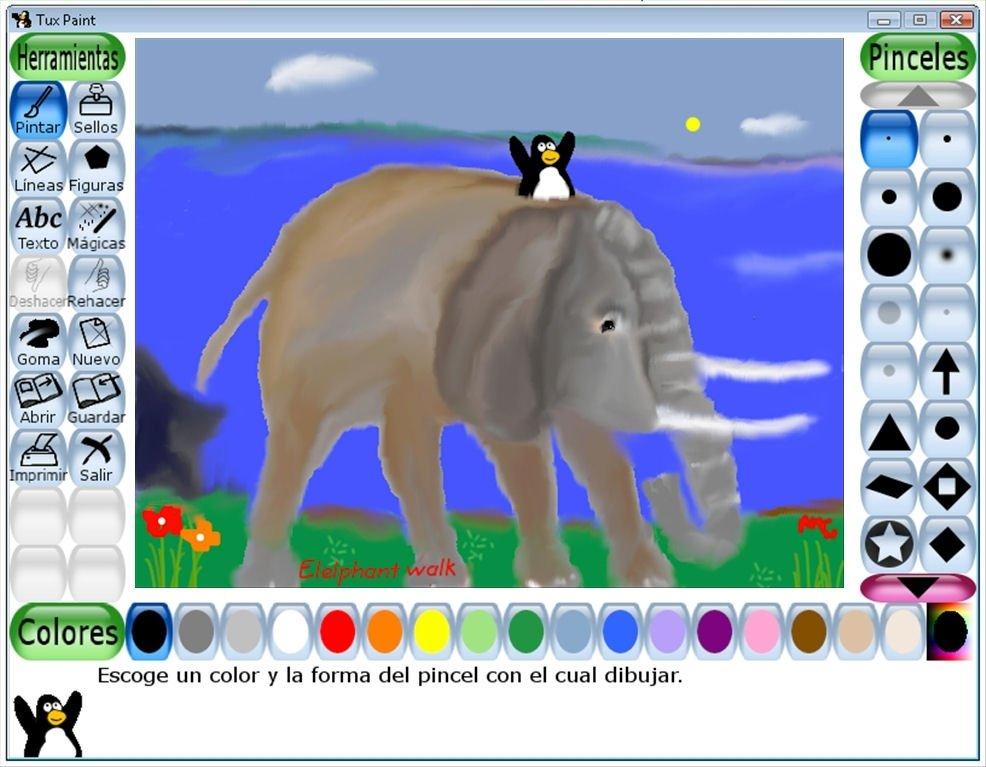 Tux Paint 0923 Descargar Para Pc Gratis