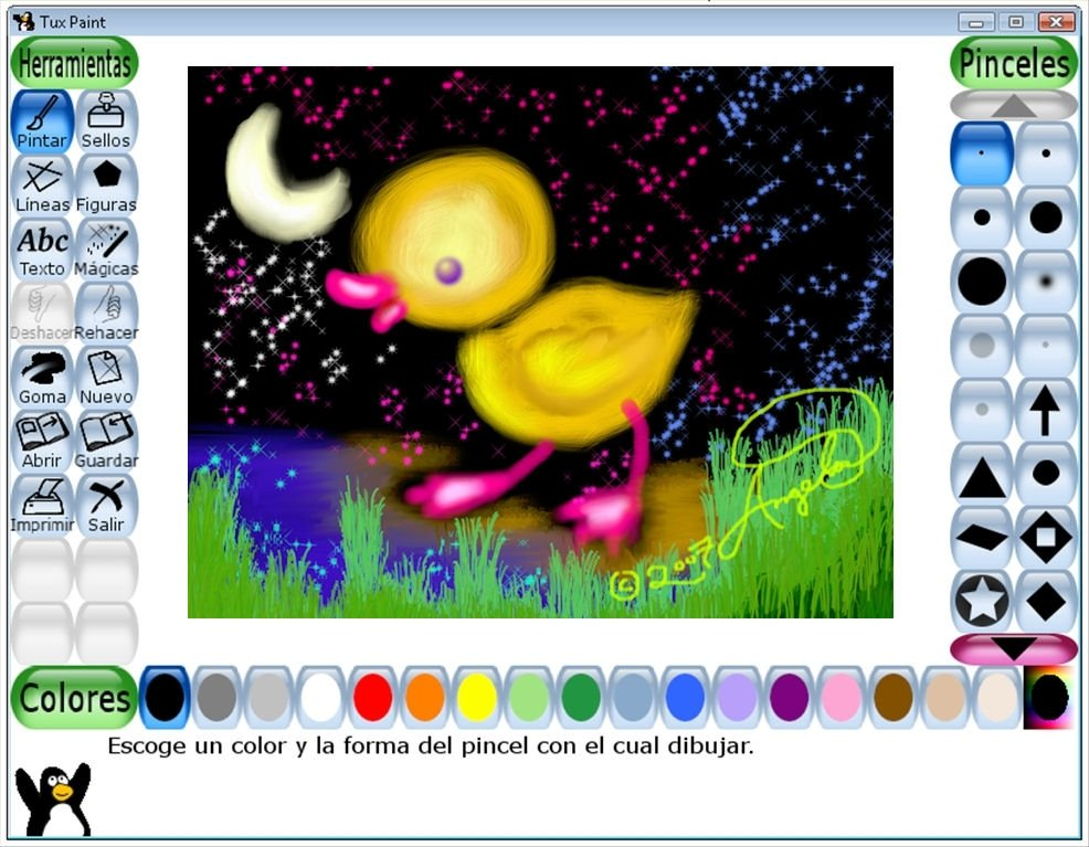 tux paint para linux download
