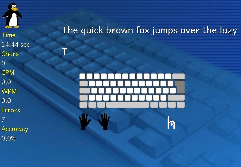tux typing gratuit