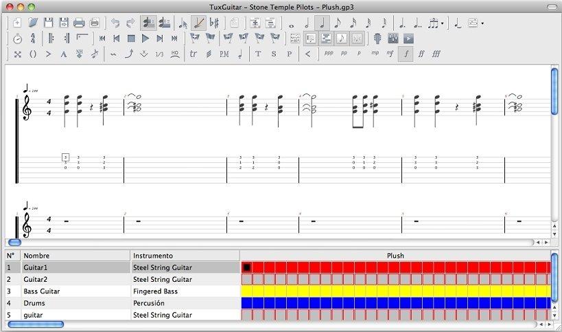 TuxGuitar Mac image 5