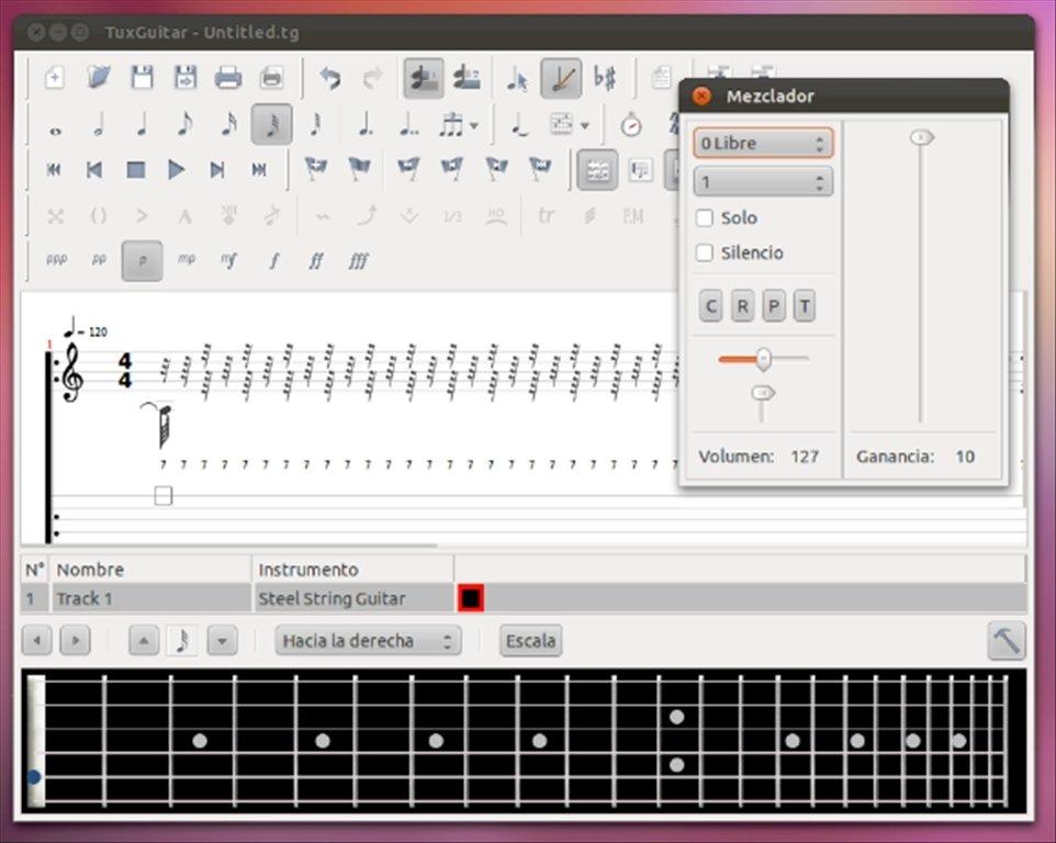 TuxGuitar Linux image 6