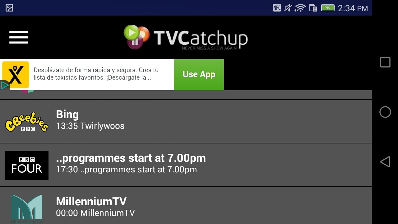 Tvcatchup for android apk download.
