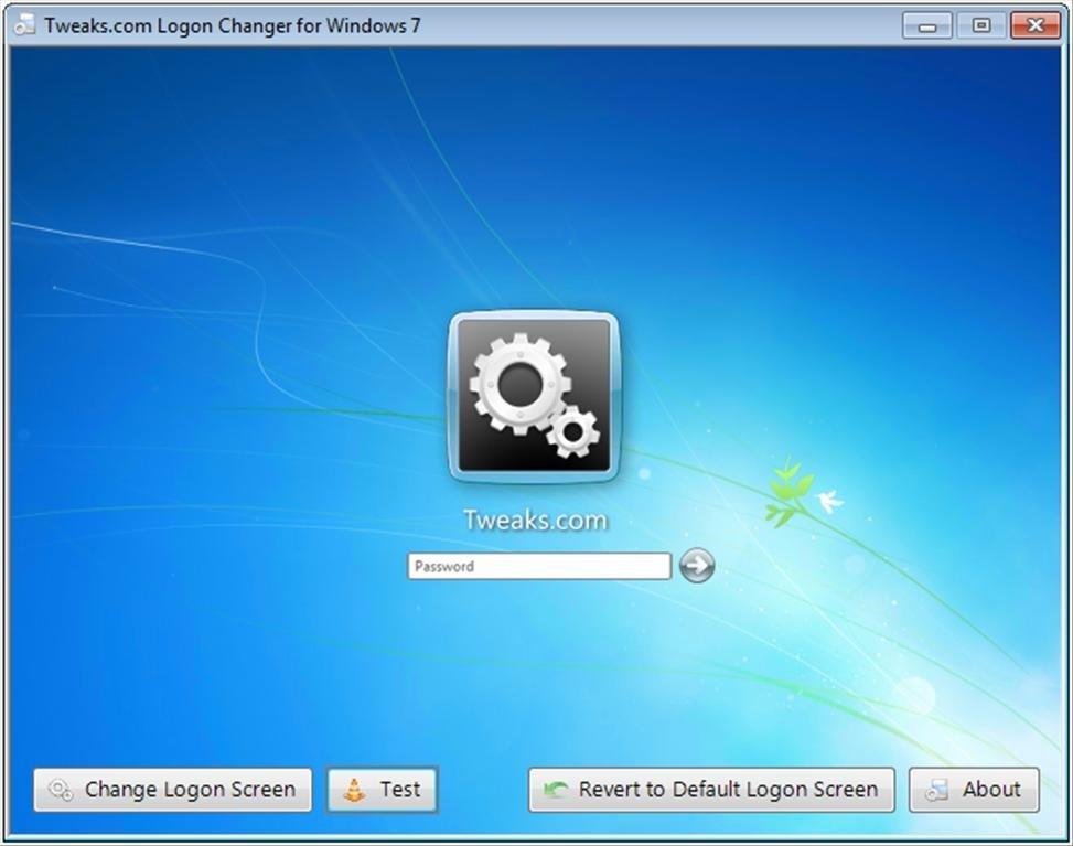 Tweaks.com Logon Changer image 4