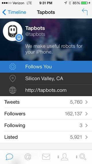 Tweetbot - Download for iPhone Free