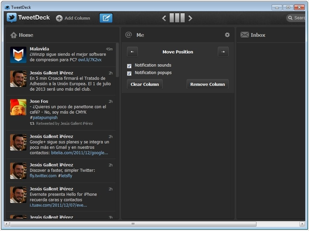 TweetDeck Desktop 3 9 633 - Download for PC Free